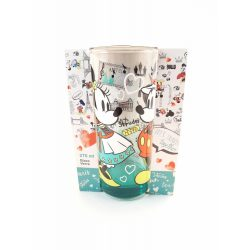 Disney Mickey-Minnie üveg pohár 270 ml BÉCS design