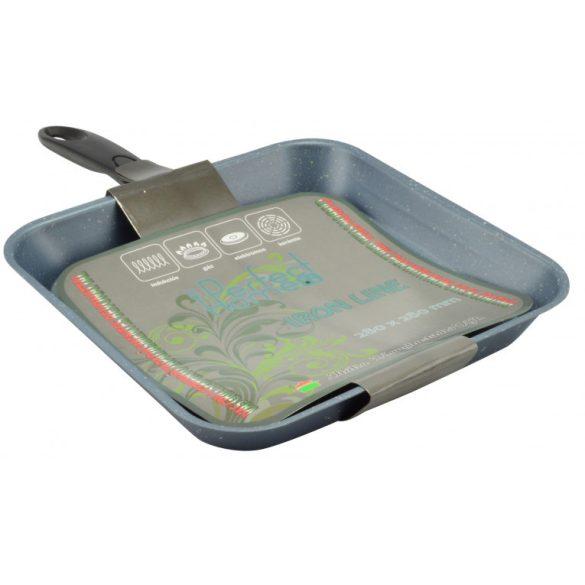 Iron Line grill serpenyő, tapadásmentes bevonattal, 28 cm