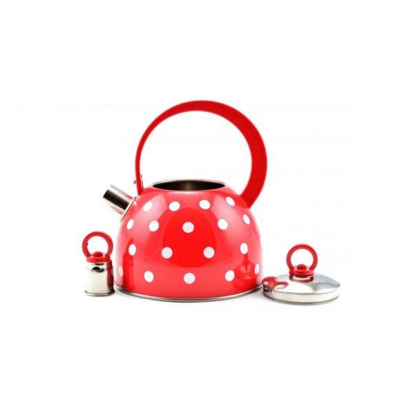 Perfect Home teafőző, teáskanna 2l pöttyös