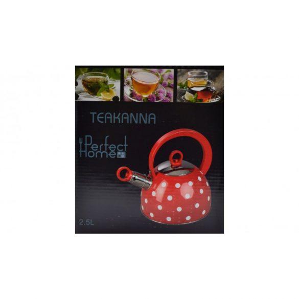 RETRO teafőző, teáskanna 2l pöttyös