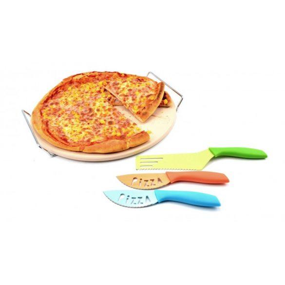 Pizzakés,  tálaló szett 3 részes