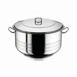 18,5 literes rozsdamentes acél fazék fedővel
