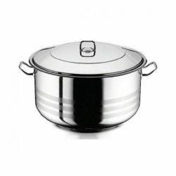 18,5 literes rozsdamentes acél fazék fedővel 34*23 cm