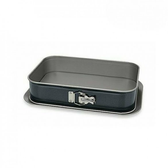 Perfect Home Csatos tepsi-tortaforma tálcával, 35*24*8 cm
