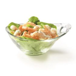 PRACTICA üveg salátás, kompótos tálka  10 cm LOSE