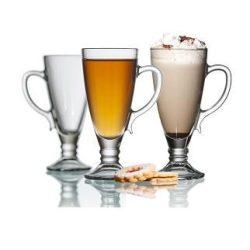 Dalia frappés talpas pohár szett,  6 db,   27 cl,  17,2 cm