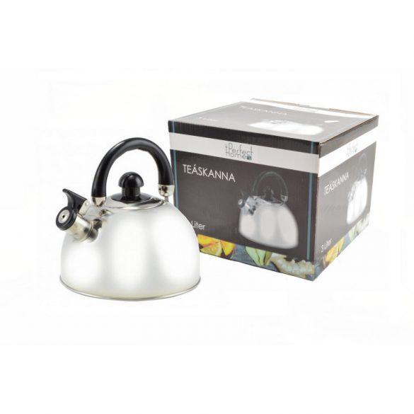 Perfect Home Teafőző, teáskanna rozsdamentes, 3 l
