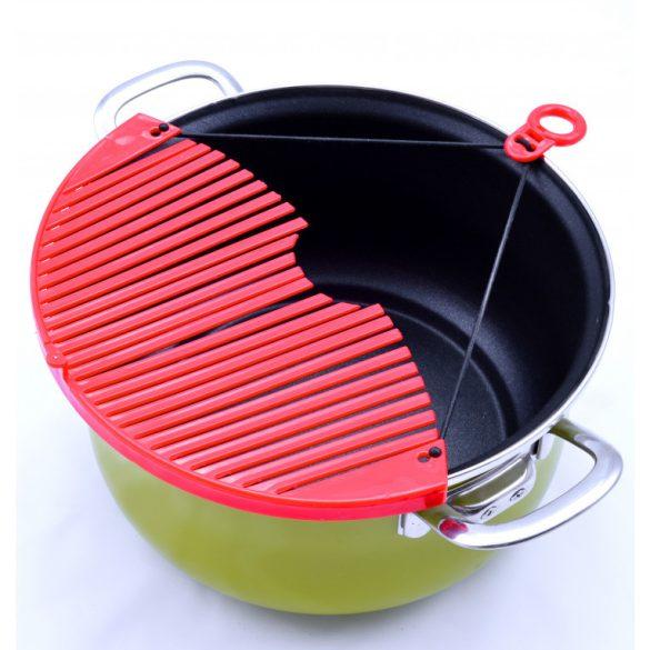 Állítható tésztaszűrő edényre