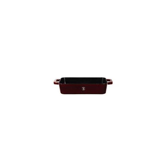 Berlinger Haus Strong Mold Seria öntöttvas tepsi zománcozott bevonattal, burgundy 30*20 cm