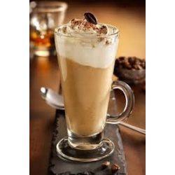 Jeges kávés, frappés üveg pohár szett 6*2,6 dl