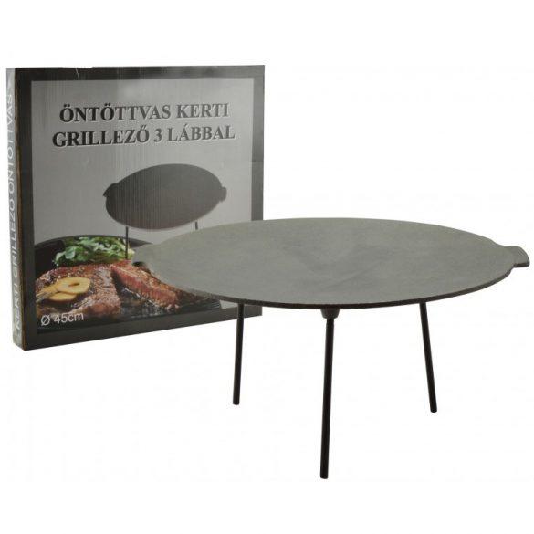 Öntöttvas grill tárcsa - boronatárcsa 45 cm