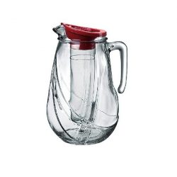 Rolly üveg kancsó hűtőbetéttel, tetővel,  2,5 literes