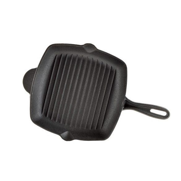 Öntöttvas grill serpenyő 26*3,5 cm