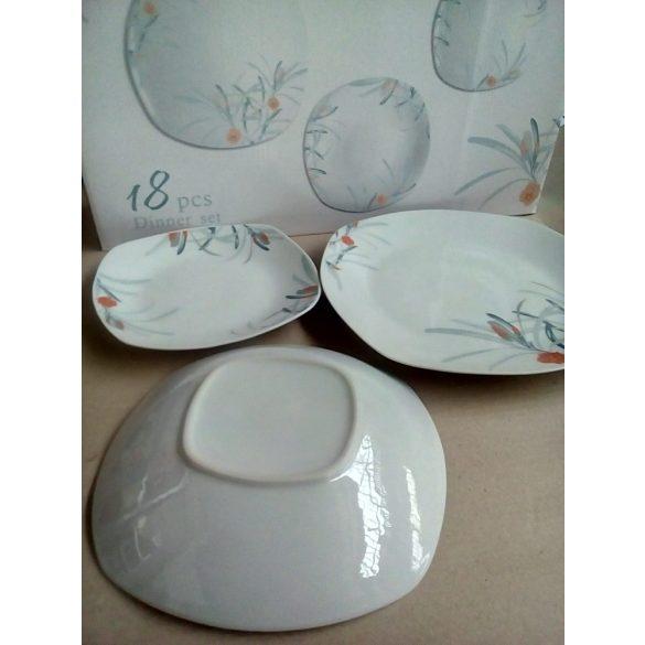Leander 18 részes porcelán étkészlet