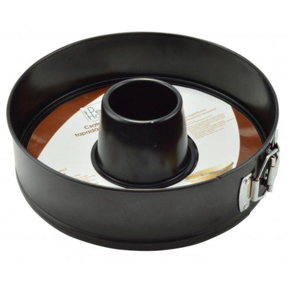 Csatos kuglóf forma és tortaforma tapadásmentes bevonattal 24*7  cm
