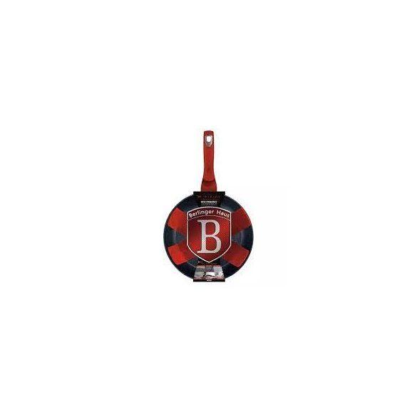 Berlinger Haus Metallic Line Burgundy Edition tapadásmentes 28*5,2 cm serpenyő  2,4 literes
