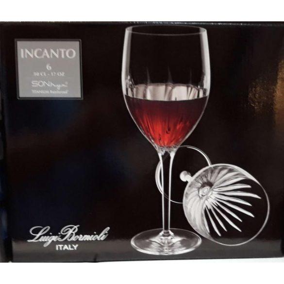 INCANTO kristály boros pohár 50 cl 6 db