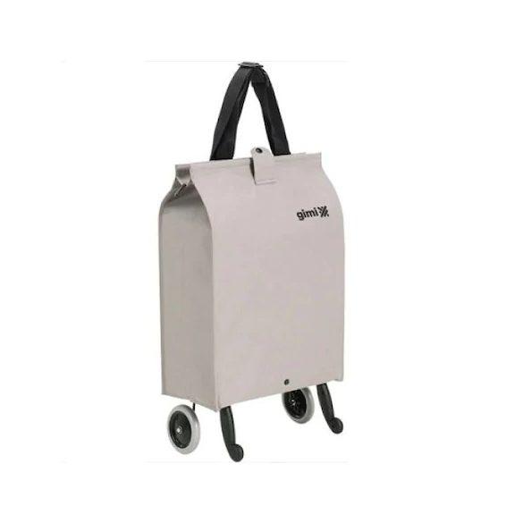 Gimi - Brava Plus Beige, összecsukható bevásárlókocsi