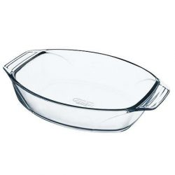 PYREX OPTIMUM ovális sütőtál füles 30 x 21 x 7 cm,   2 l