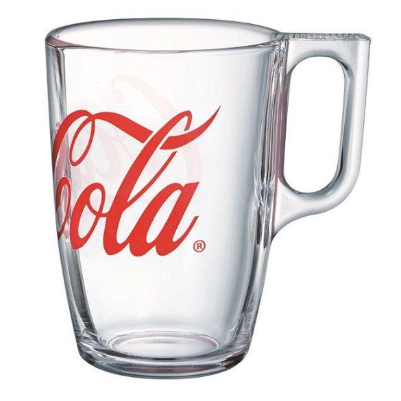 Coca-cola hőálló bögre szett 6*3,2 dl