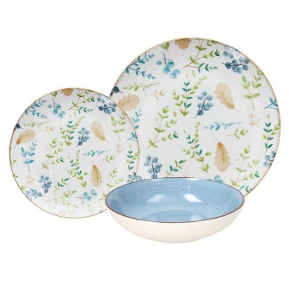 GAIA 18 részes porcelán étkészlet