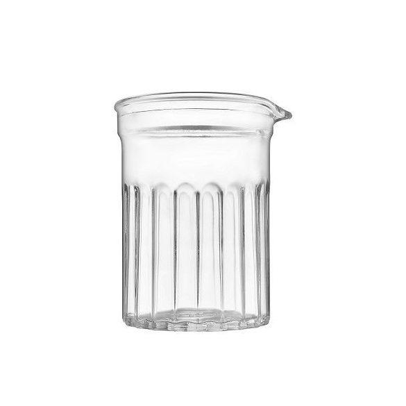 Mixology koktélos keverő pohár,  75 cl