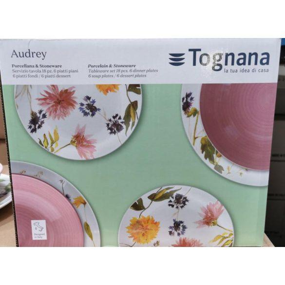 Tognana Medison Audrey 18 részes porcelán étkészlet