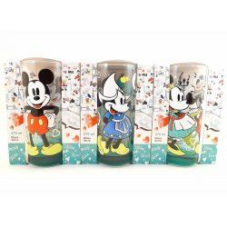 3 db-os Disney Minni-Mickey üveg pohár szett 3*270 ml BERLIN, AMSTERDAM, BÉCS design